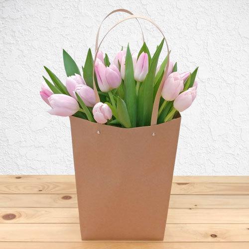 Light Pink Garden Tulips | Buy Flowers in Saudi Arabia | Gifts
