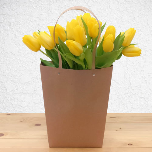 Yellow Garden Tulips | Buy Flowers in Saudi Arabia | Gifts