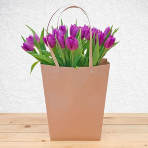 Purple Garden Tulips | Buy Flowers in Saudi Arabia | Gifts