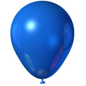 Blue Rubber Balloon | Buy Balloons in Riyadh Jeddah KSA | Gifts