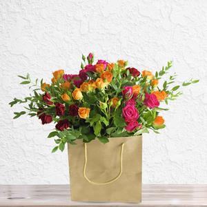 3 of a Kind Baby Roses   Buy Flowers in Riyadh Jeddah KSA   Gifts