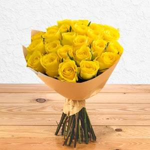 24 Sunny Roses | Buy Flowers in Riyadh Jeddah KSA | Gifts