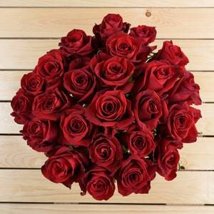 25 Red Roses   Buy Flowers in Riyadh Jeddah KSA   Gifts