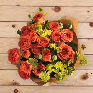 Orange Passion   Buy Flowers in Riyadh Jeddah KSA   Gifts